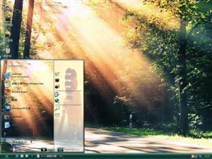 森林风光电脑主题