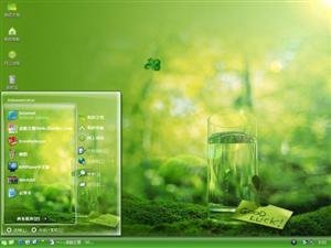 绿色生机电脑主题
