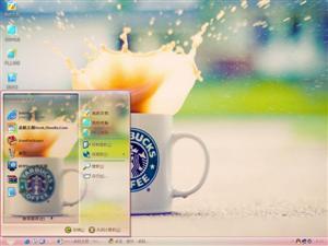 星巴克咖啡电脑主题