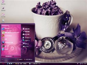紫罗兰电脑主题