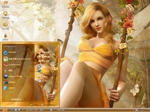CG童话世界电脑主题