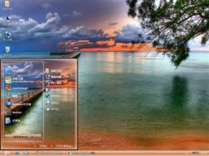 度假海滩电脑主题
