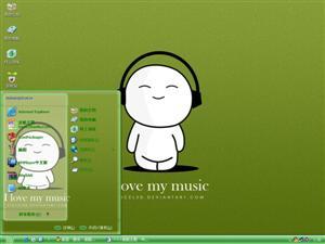 我爱音乐电脑主题