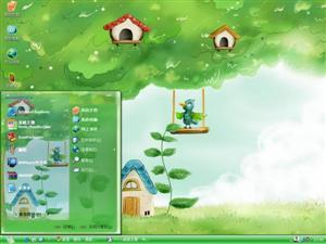 森林童话电脑主题