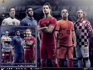 2012欧洲杯电脑主题
