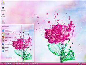 玫瑰花电脑主题图片