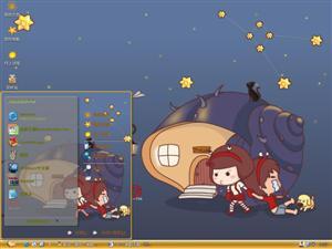 巨蟹座女生电脑主题