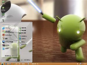 安卓VS苹果电脑主题