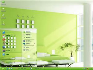 绿色家居设计电脑主题