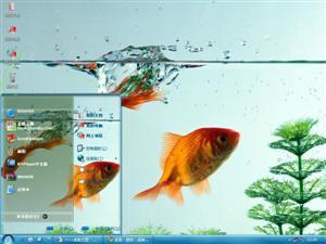 金鱼电脑主题