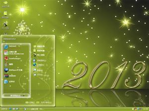 2013喜庆新年电脑主题