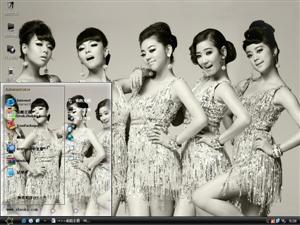 Wonder Girls美女组合电脑主题