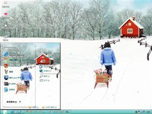 冬天收获电脑主题