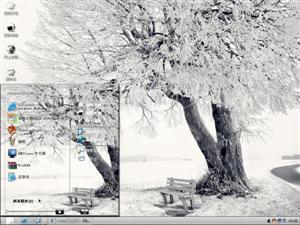 美丽冬景电脑主题