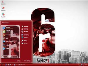 彩虹六号电脑主题