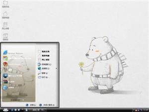 大熊电脑主题