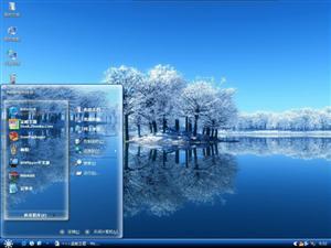 冬季唯美雪景电脑主题