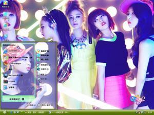 Wonder Girls炫舞电脑主题