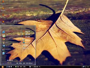 秋天落叶电脑主题