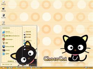 Choco Cat电脑主题