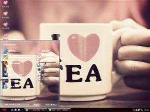 I Love Tea电脑主题