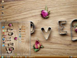 浪漫爱情设计电脑主题