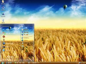 秋收小麦电脑主题
