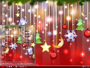 圣诞节吊饰电脑主题