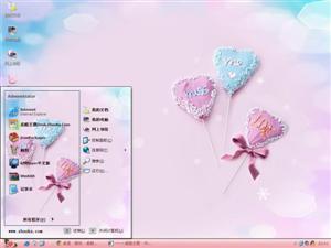 爱情棒棒糖电脑主题