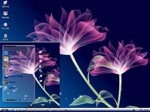 花朵电脑主题