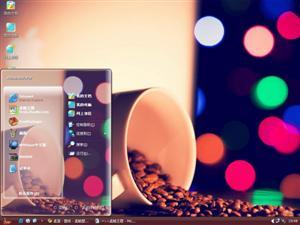 咖啡豆电脑主题
