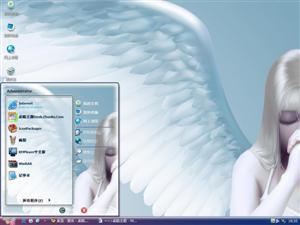 天使的祈祷电脑主题