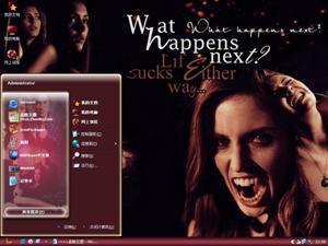 吸血鬼日记电脑主题