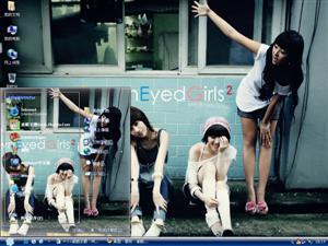 Brown Eyed Girls电脑主题