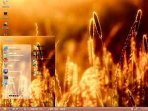 金黄小麦电脑主题