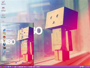 Danbo小盒子电脑主题