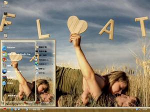 浪漫爱情故事电脑主题
