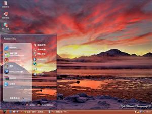 阿拉斯加风景电脑主题