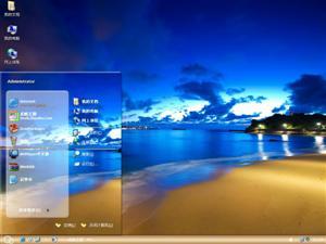 美丽海滨电脑主题
