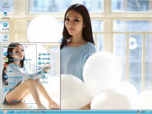 刘诗涵美女电脑主题