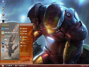 钢铁侠3电脑主题