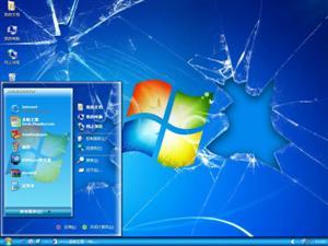 破碎的背景电脑主题