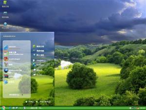 唯美清爽自然风景电脑主题
