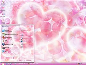 梦幻CG背景花卉电脑主题