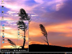 日落风光电脑主题
