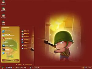 炮炮兵保卫家园电脑主题