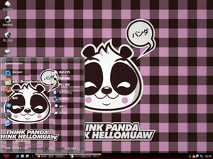 hello panda电脑主题