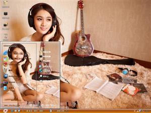 王熙然美女电脑主题