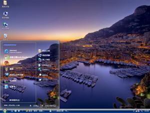 摩纳哥风景电脑主题