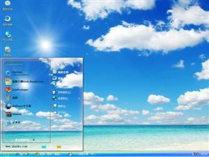 阳光海滩电脑主题